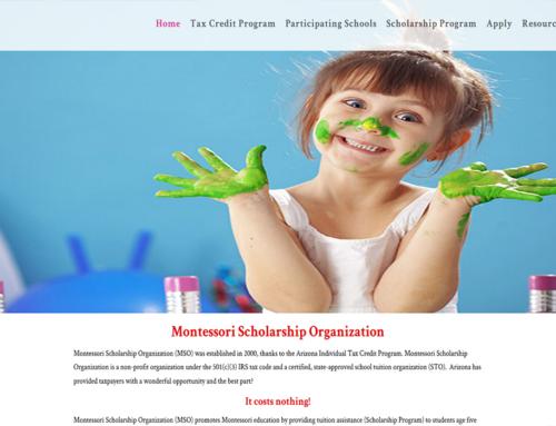 Montessori Nonprofit Website Design