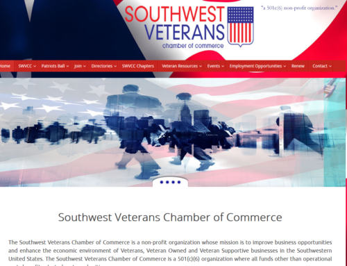 Veteran Non Profit Website