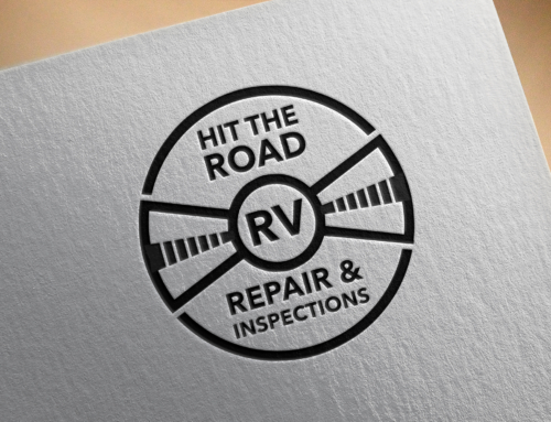 New logo for Hit The Road RV Repair & Inspection