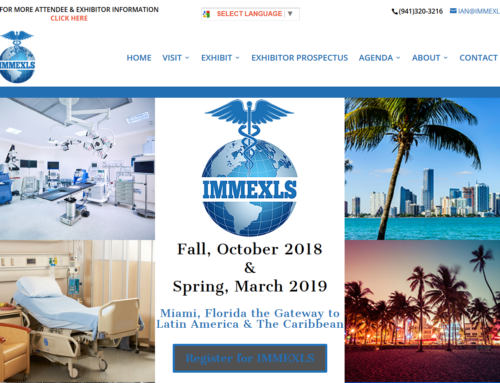 New website www.immexls.com