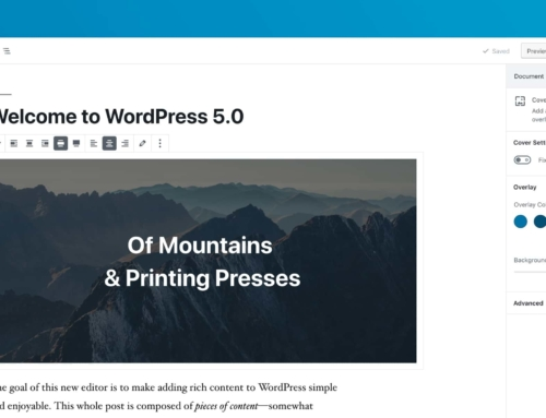 WordPress 5 and ProPhoto 6 or Earlier
