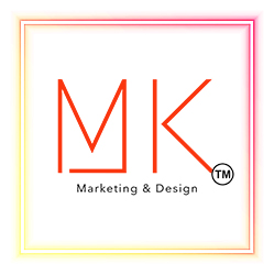 MK Marketing and Design Services | Social Media and Website Design by Monica Kelly Logo
